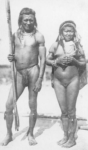 Guerrier Paressi avec sa jeune femme