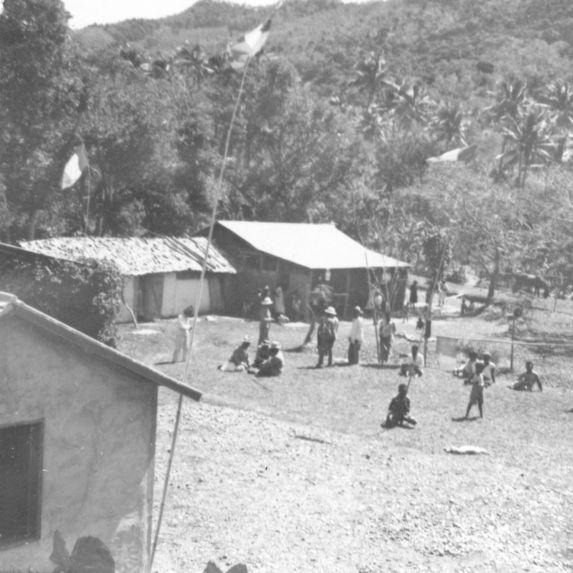 Village de reconstruction moderne