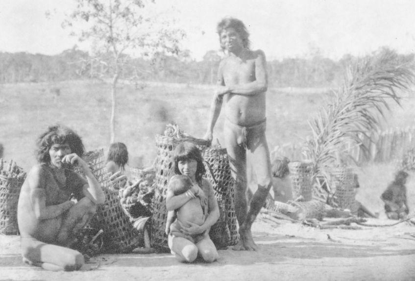 """Indiens """"Nambicuara&quot"""