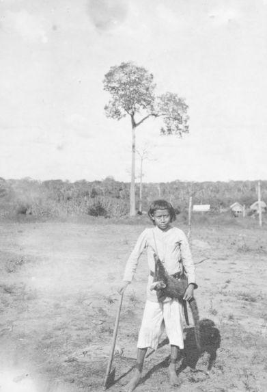 "Jeune indien ""Nambicuara"" de Campas Novos"