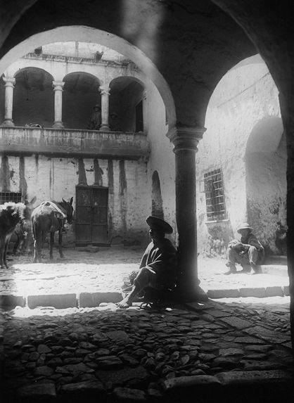 Maison de l'époque coloniale au Cuzco