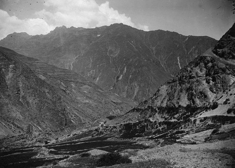 Vallée du Rimac, près de San Matéo, Pérou