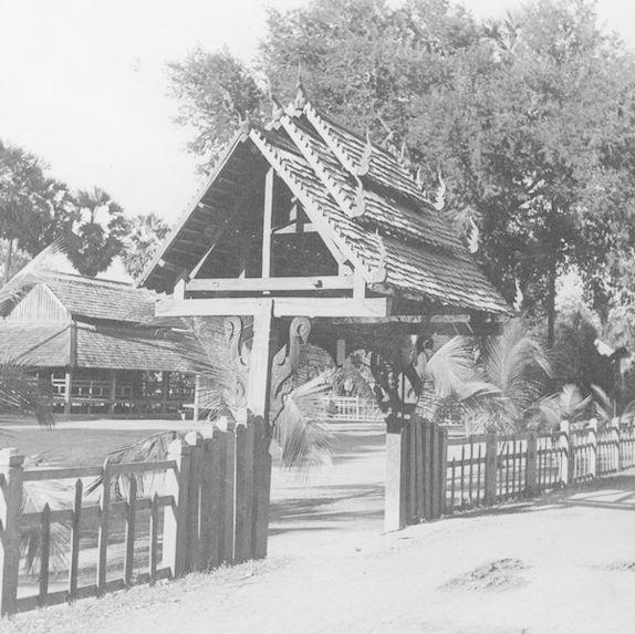 Porterie d'une pagode