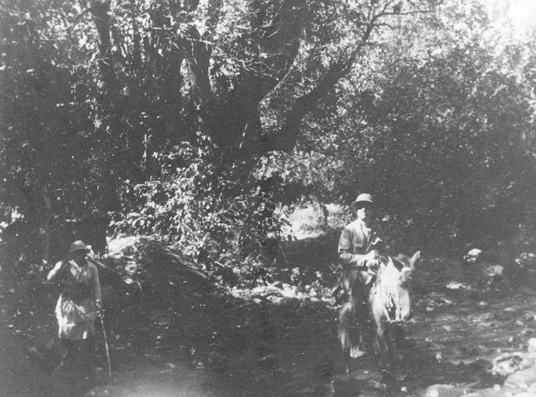 Roux et Lifschitz sur la piste de Debra Marqos à Zaghié