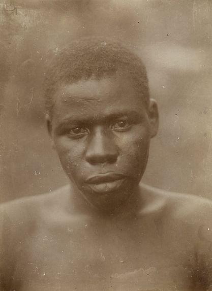 Nègre soudanais, probablement Dinka
