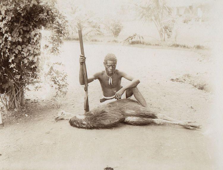 Jeune tireur indigène