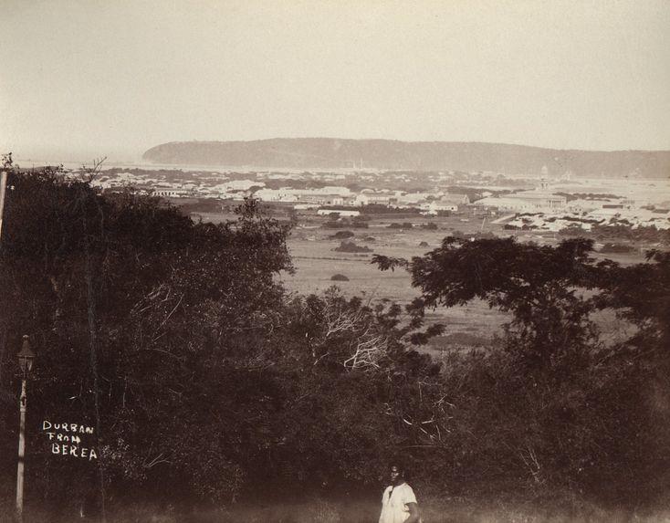 Vue de Durban prise de Berea