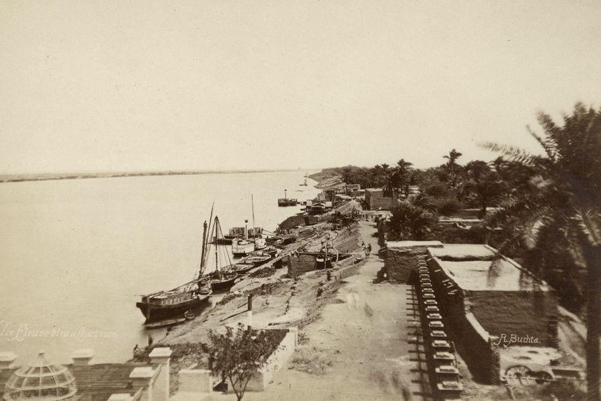 Le Nil bleu à Khartoum