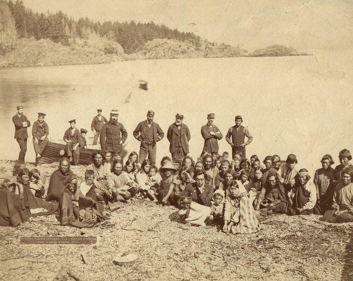 Nootka Sound Indians