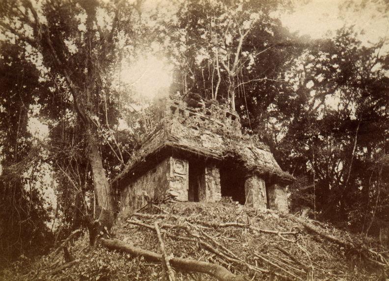 Palenque. Temple du soleil