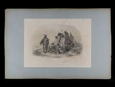 Crow Indianer. Indiens Corbeaux