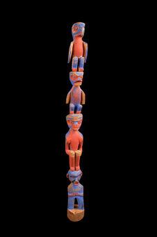 Modèle de poteau héraldique
