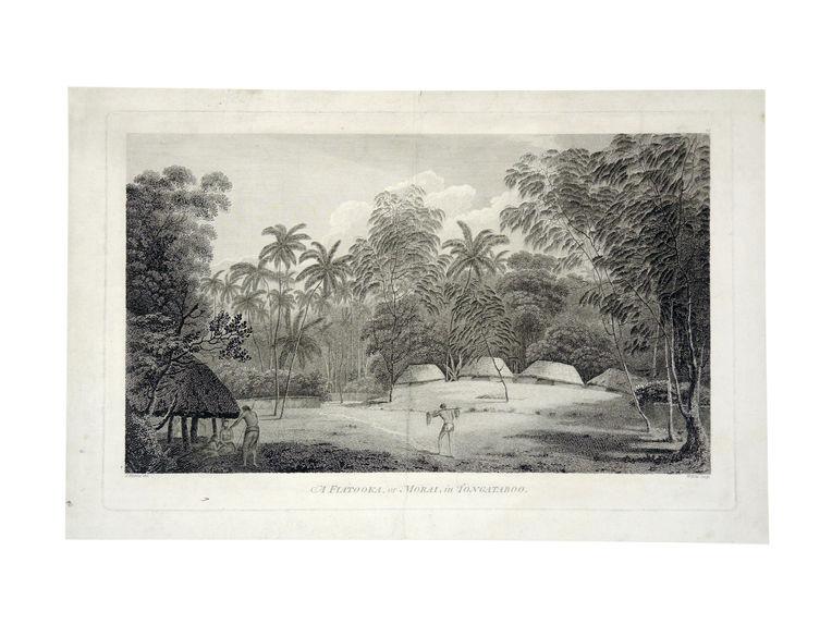 A Fiatooka or morai in Tonga Tabou