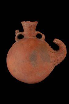 Vase phytomorphe