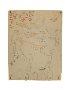 dessin d'écolier