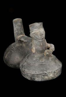 Vase siffleur : deux panses