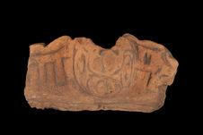 Fragment de vase à décor zoomorphe