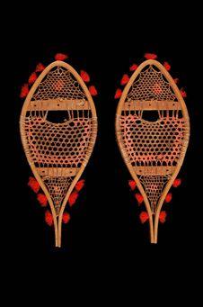 Modèle de raquettes à neige