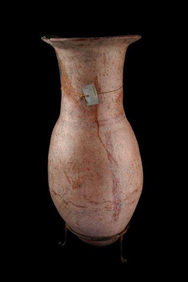 Vase en forme de goutte de suif