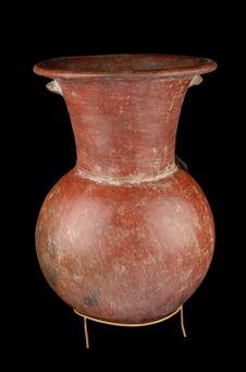 Vase à décor géométrique