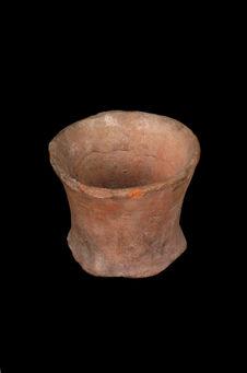Fragment de vase tronconique