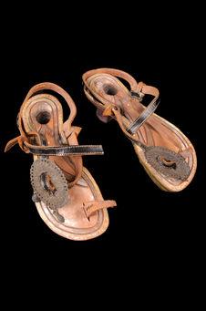 Sandales ornementées