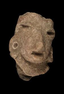 Figurine anthropomorphe (fragment)