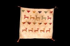 Tissu aux lamas