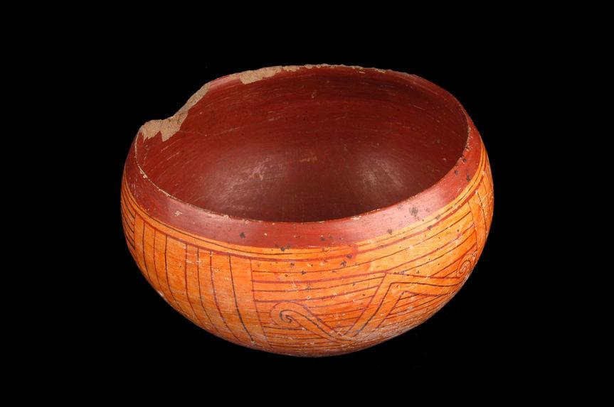 Vase hemisphérique