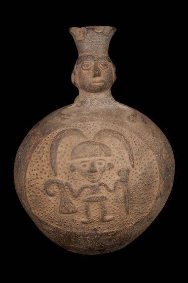 Vase à goulot anthropomorphe