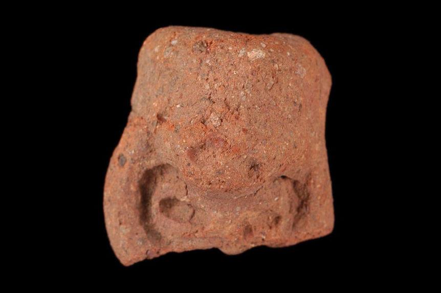 Figurine (fragment) ?