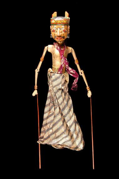 Marionnette de wayang golek : Bardan, sujet