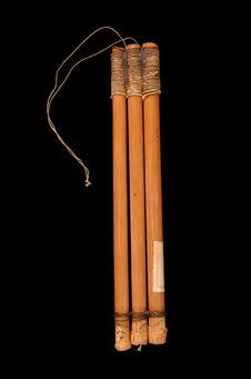 Flûte triple