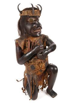 Statue de chaman