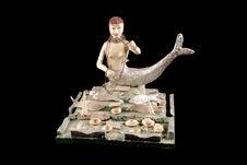 Figurine représentant une divinité de l'eau