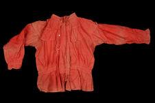Elément de costume de danse : blouse