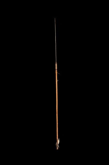 Flèche à pointe métallique