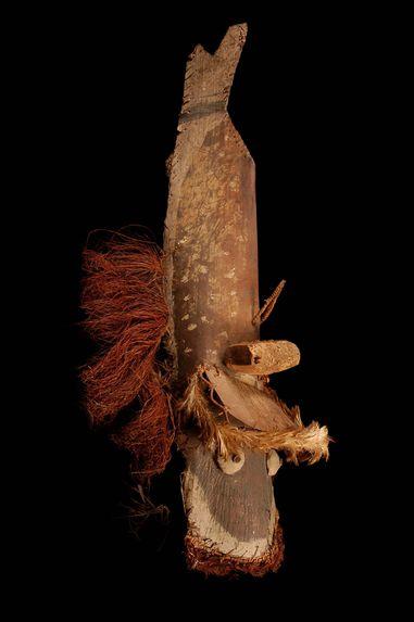 Masque zoomorphe poisson