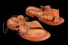 Paire de sandales d'homme