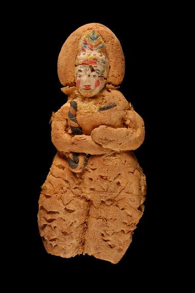 Figurine anthropomorphe en pain