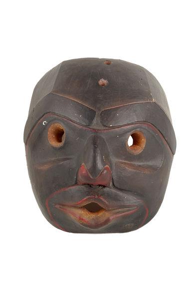 Moulage : masque anthropomorphe