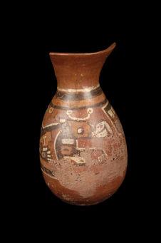 Vase à décor ornithomorphe