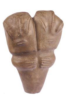 Figurine bicéphale (moulage)