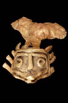 Figurine fragmentaire: tête