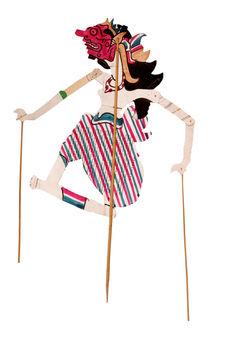 "Figure de ""wayang"" : Dorsa Na"