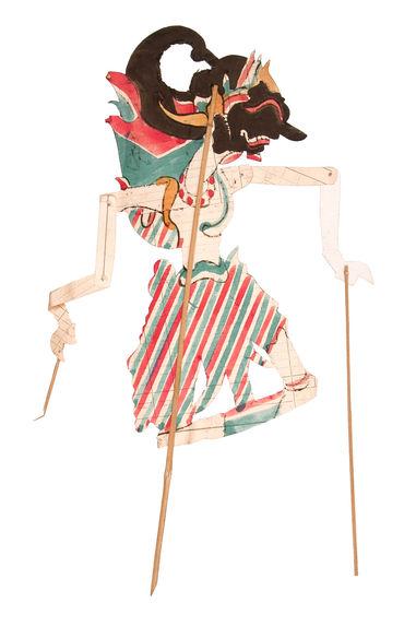 """Figure de """"wayang"""" : Gatutkatja"""