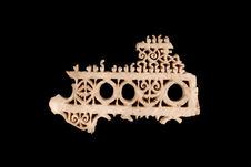 Fragment de plaque funéraire