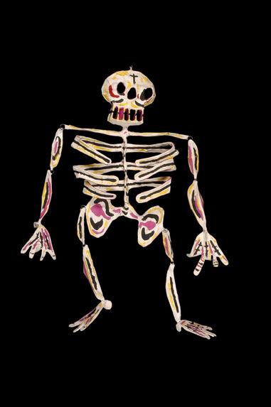 Squelette polychrome