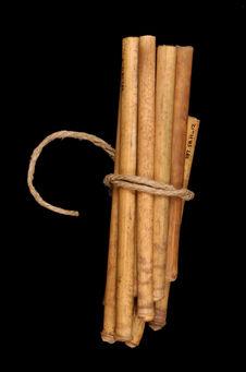 Ensemble de 15 tuyaux de flûte