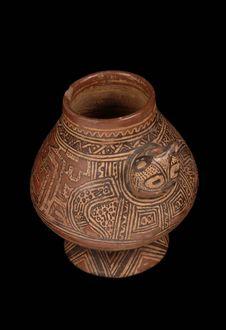 Vase à décor zoomorphe
